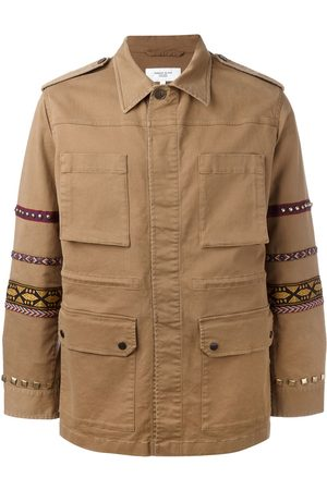 Fashion Clinic Embroidered sleeve field jacket