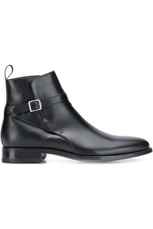 Scarosso Buckled ankle boots