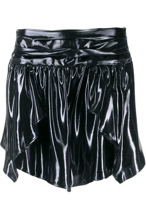 Isabel Marant Women Mini Skirts - Metallic mini skirt