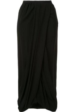 Giambattista Valli Silk gathered skirt