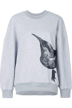 Ioana Ciolacu Bird print sweater - Grey