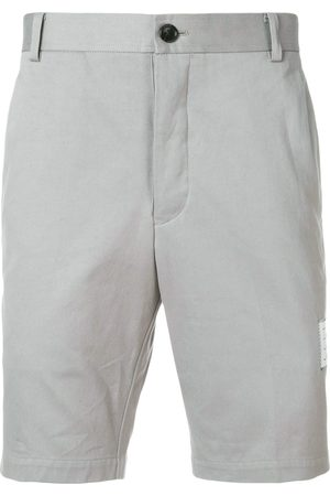 Thom Browne Unconstructed Cotton Chino Short - Grey