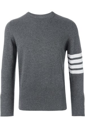 Thom Browne 4-Bar Cashmere Pullover - Grey