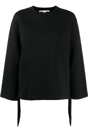 Stella McCartney Women Sweatshirts - Fringe detail sweatshirt