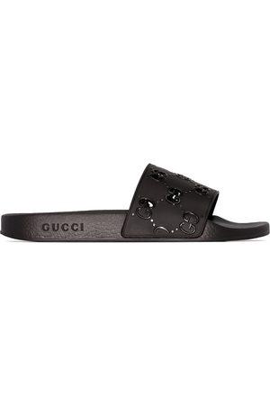 Gucci Pursuit GG logo slides