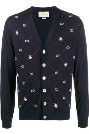 Gucci GG and Bees cardigan