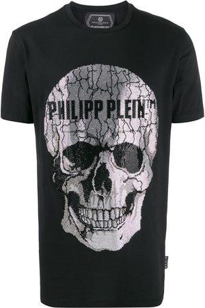 Philipp Plein Embellished skull short sleeve T-shirt
