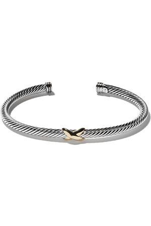 David Yurman Women Bracelets - 18kt yellow gold X silver cuff bracelet - S8