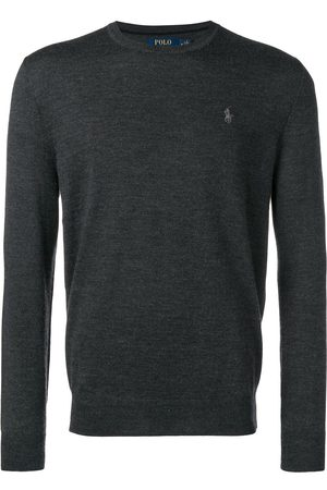 Polo Ralph Lauren Logo fitted sweater - Grey