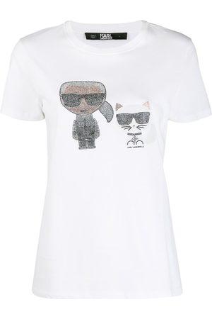Karl Lagerfeld Women T-shirts - Ikonik T-shirt