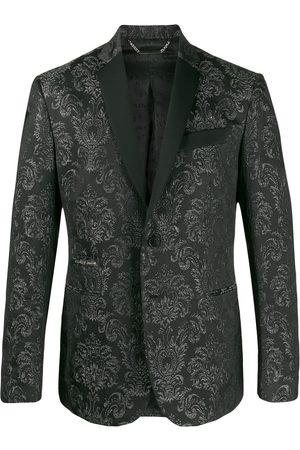 Philipp Plein Brocade print blazer