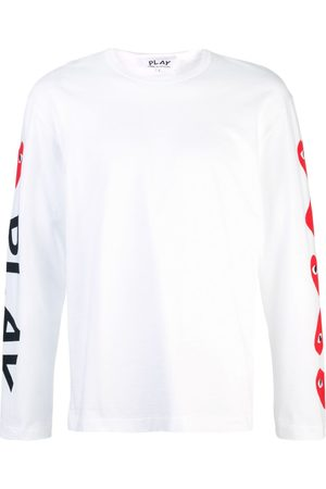 Comme des Garçons Almond-eye long-sleeved T-shirt
