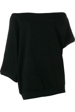 Ioana Ciolacu Women Strapless Tops - Off-the-shoulder sweatshirt