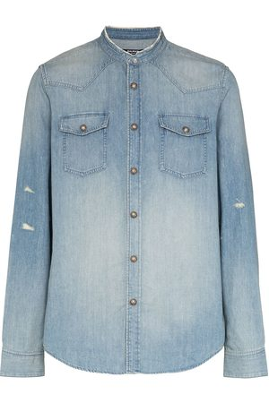Balmain Faded denim shirt