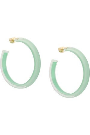 ALISON LOU Medium LOUcite Jelly hoops