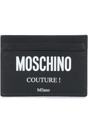 Moschino Logo print cardholder