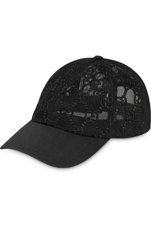 Gucci Logo mesh baseball cap