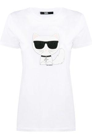Karl Lagerfeld Ikonik Choupette T-Shirt