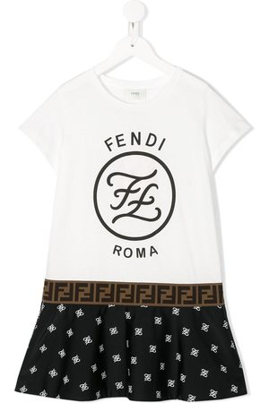 Fendi Logo printed T-shirt dress