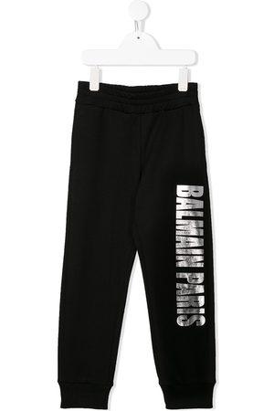 Balmain Logo print track pants