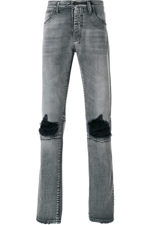 Unravel Project Distressed basic skinny jeans - Grey
