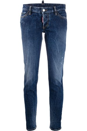 Dsquared2 Cropped slim-fit jeans