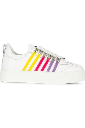 Dsquared2 Stripe-side low-top trainers