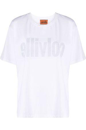 colville Logo print inside-out effect T-shirt
