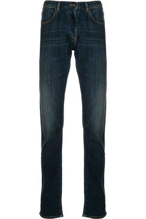 Emporio Armani Faded straight-leg jeans