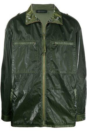 Mr & Mrs Italy High-shine jacket
