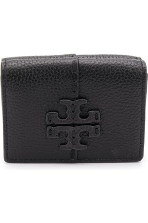 Tory Burch Logo plaque leather purse