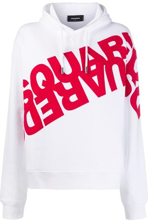 Dsquared2 Mirrored logo hoodie