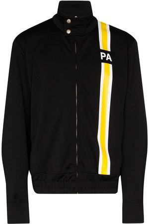 Palm Angels Monogram striped track jacket