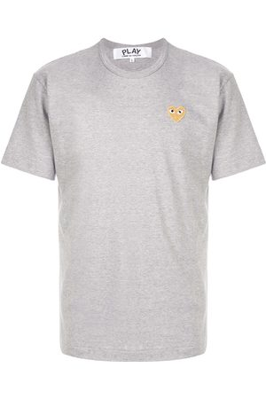 Comme des Garçons Embroidered logo T-shirt - Grey