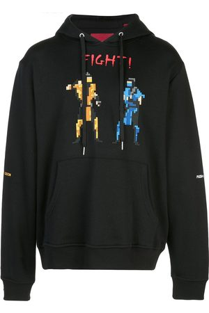 MOSTLY HEARD RARELY SEEN Fight! pixelated hoodie