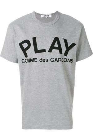 Comme des Garçons Printed logo T-shirt - Grey