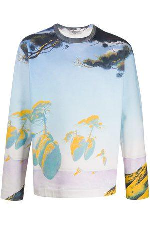 VALENTINO Floating Island print sweatshirt