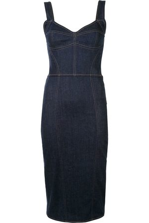 Dolce & Gabbana Denim fitted dress