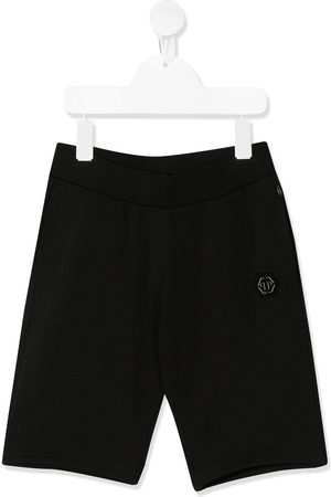 Philipp Plein Embroidered logo bermuda shorts