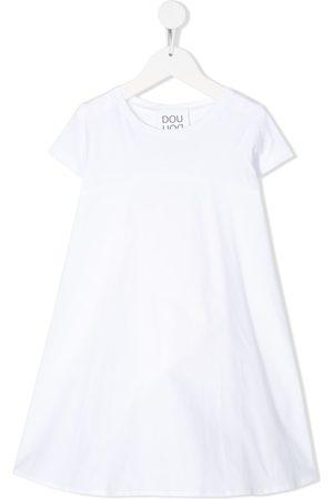 DOUUOD KIDS Short-sleeve flared dress