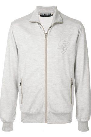 Dolce & Gabbana DG embroidered sweatshirt - Grey