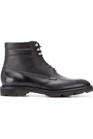 JOHN LOBB Lace up ankle boots