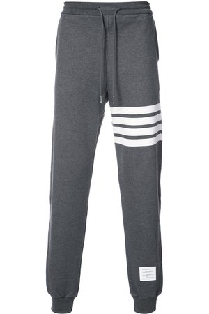 Thom Browne Engineered 4-Bar Jersey Sweatpant - Grey