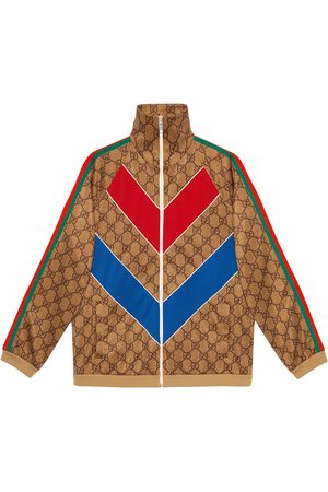 Gucci Men Outdoor Jackets - GG technical jersey jacket