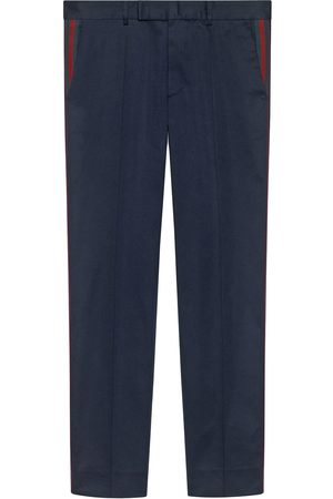 Gucci Men Formal Pants - 60s pant with Web