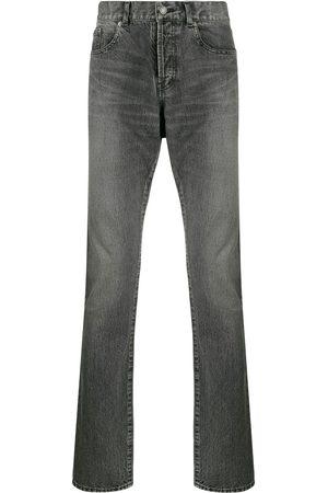 Saint Laurent Faded effect jeans - Grey