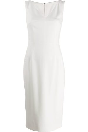 Dolce & Gabbana Sleeveless v-neck pencil dress