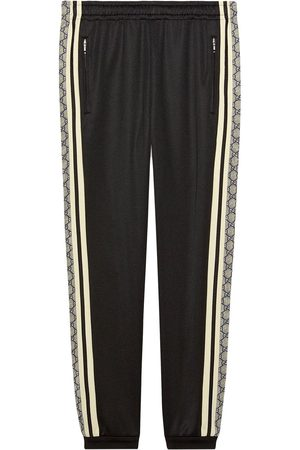 Gucci Men Sweatpants - Oversize technical jersey jogging pant