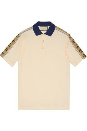 Gucci Monogram pattern polo shirt