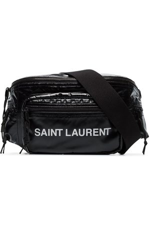 Saint Laurent Logo printed padded belt bag